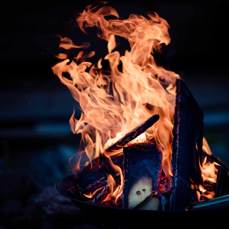 Чистка негатива силой огня